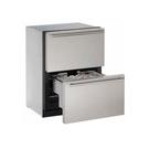 【得意家電】美國 U-line 3024DWR 抽屜式冰箱(歐式無把手不銹鋼門片)  ※ 熱線07-7428010