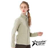【PolarStar】女 內刷毛保暖外套『卡其』P20206 上衣 休閒 戶外 登山 冬季 保暖 禦寒 保暖