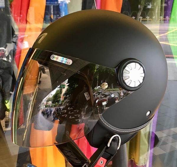 ASTONE安全帽,AJ(228),素色/消光黑
