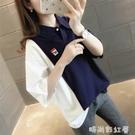 韓版寬鬆女士短袖T恤女裝2021年新款夏裝春裝春款春季上衣服ins潮「時尚彩紅屋」