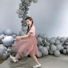 菲菲的衣柜女童洋裝2020新款兒童超洋氣夏裝中大童紗裙公主裙子 幸福第一站