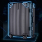 行李箱網紅拉桿箱女鋁框旅行箱萬向輪男ins密碼箱20寸24皮箱子28 免運快出
