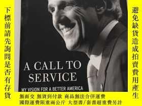 二手書博民逛書店英文原版罕見大精裝 A Call to Service: My