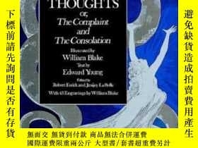 二手書博民逛書店Night罕見Thoughts, Or The Complaint And The ConsolationY2