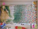 ivy織品/廚房/茶水間/居家門簾/[浪漫花妍]-長門簾(85*150cm)又稱風水簾/沒開衩