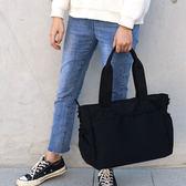 【OFiFi】輕盈多口袋防潑尼龍兩用購物托特包 肩背包 斜背包 媽媽包 空氣包