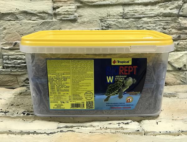 【西高地水族坊】Tropical德比克 高蛋白烏龜成長主食(澤、水龜專用) 5L