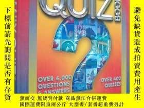 二手書博民逛書店The罕見Family Quiz Book (精裝大開本原版外文