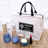 多功能隨身化妝包旅行簡約化妝品收納包韓國便攜大容量化妝袋小號-Ifashion