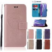三星 Note20 Note20 Ultra 手機皮套 貓頭鷹風鈴 插卡 支架 磁扣 可掛繩 防摔 內軟殼 壓紋皮套 手機套