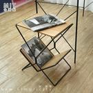 書報邊桌 茶几桌 沙發邊桌 咖啡桌 鐵線【L0003】書報鐵線邊桌 MIT台灣製|宅貨