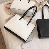 公文包 包包女包新款2021時尚托特包簡約百搭手提包大容量通勤公文側背包  曼慕