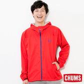 CHUMS 日本 男 防水登山外套 紅 CH041057R001