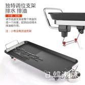 美國臺灣專用110V無煙不粘電烤盤家用電燒烤爐室內燒烤機電燒烤鍋