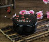 陶瓷器多功能墨水匣帶蓋墨池墨斗毛筆書法多用裝墨汁的容器硯台筆架  走心小賣場