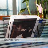 辦公桌置物架桌面工位屏風隔板掛籃辦公室金屬資料架文件架