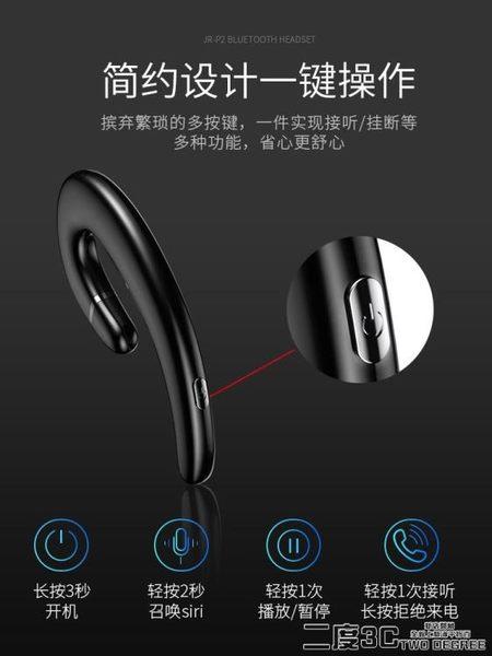 藍芽單耳耳機 Joyroom/機樂堂 P2 藍芽耳機骨傳導概念隱形掛耳式開車男女迷你超小  DF  二度3C