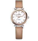 TITONI 梅花麥 瑞士 時尚 機械錶(23978 SRG-STB) 快拆/玫塊金框