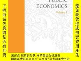 二手書博民逛書店Handbook罕見Of Public Economics Volume 3Y256260 Alan J. A