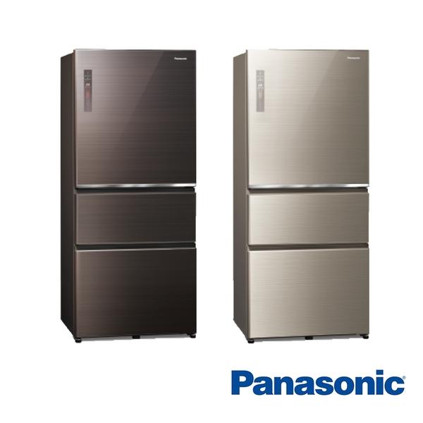 (夏日有禮賞)【Panasonic 國際牌】610公升 三門 電冰箱 NR-C611XGS((買就送厚釜深炒鍋