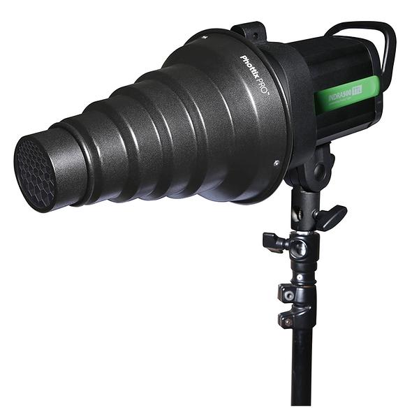 ◎相機專家◎ Phottix Pro Snoot and Gels PRO 束光筒 蜂巢網格 聚光筒 公司貨 82325
