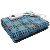 好夥伴微電腦溫控電熱毯(雙人)T2-G藍灰格