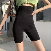打底褲安全褲塑身收腹褲大碼女裝塑形束腰安全褲胖mm防走光高腰提臀打底褲4F054-2054.依品國際