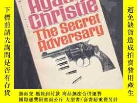 二手書博民逛書店THE罕見SECRET ADVERSARY【467】英文原版Y1