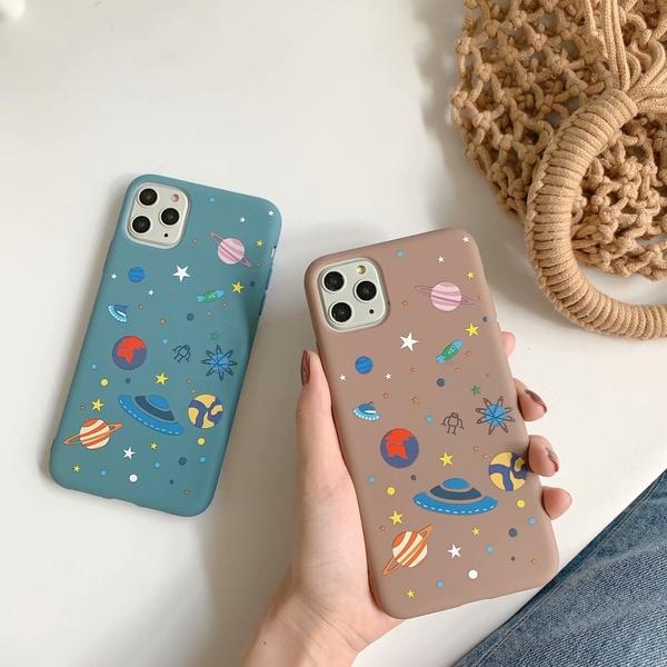 【SZ33】iPhone11 糖果星球磨砂軟殼 iphone XS max手機殼 iphone 8 plus手機殼 iphone xr手機殼 xs手機殼