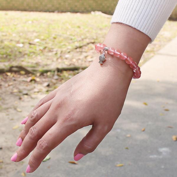 草苺晶手鍊 設計師經典-愛情豐收 石頭記