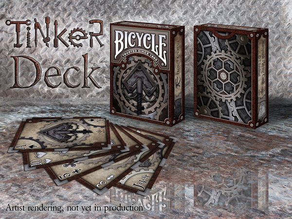 【USPCC 撲克】Bicycle tinker playing cards made by USPCC銲鍋匠撲克