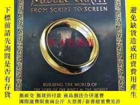 二手書博民逛書店僅存一印中土世界電影之旅罕見英國 Middle-earth fr