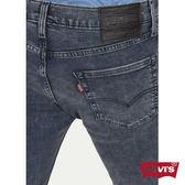 [買1送1]Levis 男款 511 低腰修身窄管牛仔長褲 / 復古藍 / 黑皮牌