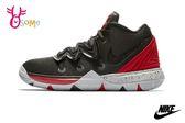 NIKE KYRIE 5 PS 大童 籃球鞋 運動鞋 親子鞋 O7287#黑紅◆OSOME奧森童鞋