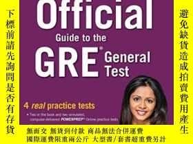二手書博民逛書店The罕見Official Guide To The Gre General TestY256260 Educ