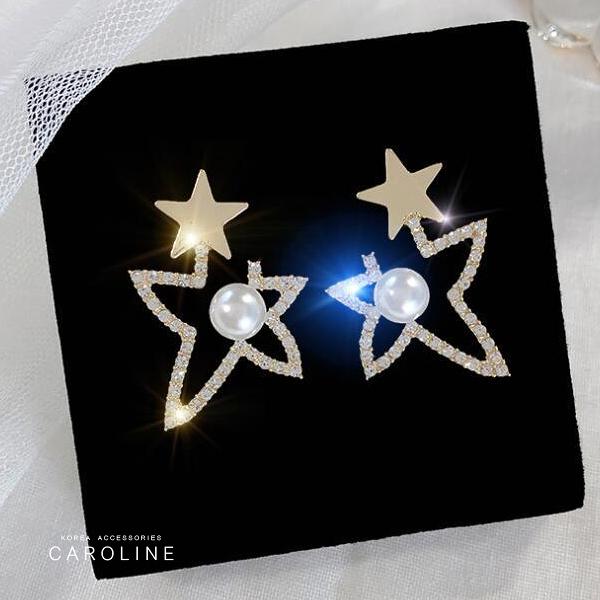 《Caroline》★韓國熱賣造型時尚  奢華、華麗設計感耳環71802