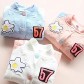 寶寶五角星外套 新品上市秋裝正韓新款女童童裝兒童棒球服wt-4862