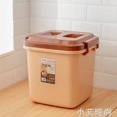 家用米桶塑料防蟲防潮面粉20.30.40廚房米缸密封防蟲米盒 NMS小艾新品