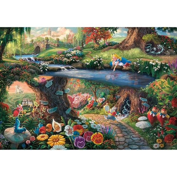 Tenyo拼圖 1000片 迪士尼家族 愛麗絲祕密花園_BF94490