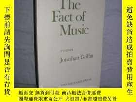 二手書博民逛書店Fact罕見Of MusicY307751 Jonathan Griffin The Menard Press