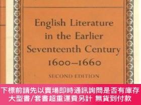 二手書博民逛書店English罕見Literature In The Earlier Seventeenth Century, 1
