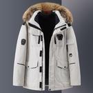 男羽絨服 K2020冬季新款加厚情侶工裝短款羽絨服外套男士毛領韓版保暖潮牌