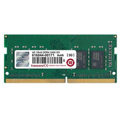 【綠蔭-免運】創見 DDR4 2400MHz 4GB 筆電記憶體(TS512MSH64V4H)