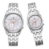 Olympia Star 奧林比亞之星 經典都會系列情人對錶(品味白)