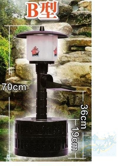 {台中水族}台灣福星-相思燈魚池過濾器﹙中﹚4000公升-220V  特價