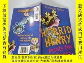 二手書博民逛書店Horrid罕見Henry Meets the Queen:可怕的亨利遇見了女王。Y200392