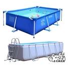 充氣泳池 家用大型兒童充氣加厚游泳池大人小孩超大戶外支架可折疊水池 VK675