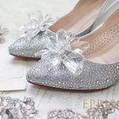 灰姑娘水晶飾扣鞋夾配飾