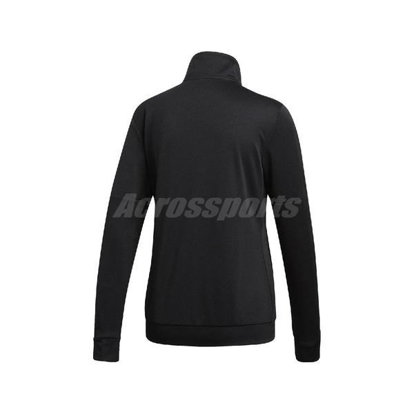 adidas 運動套裝 Team Sports Tracksuit 黑 白 女款 運動外套 長褲 【ACS】 DV2431