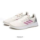 ADIDAS 慢跑鞋 QT RACER SPORT 淺粉色 網布 輕量 運動 女 (布魯克林) FY5679
